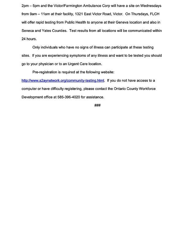 COVID Testing Press Release 2020.12.17.j