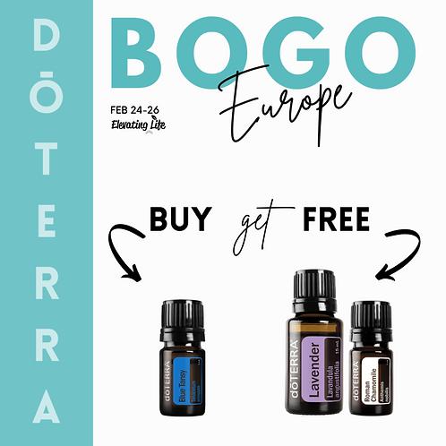 BUY dōTERRA Blue Tansy Essential Oil - 5ml GET Roman Chamomile & Lavender