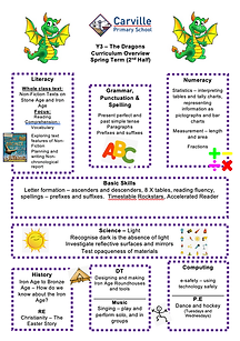 Curriculum Overview - Y3 Spring Term 2 2