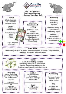 Curriculum Overview - Year 5 Summer 2 20