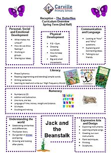 Curriculum Overview - Reception Spring 2