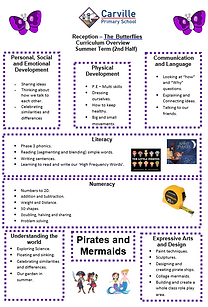 Curriculum Overview - Reception Summer 2