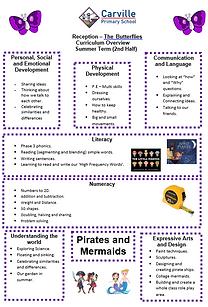 Curriculum Overview - Reception Summer 2