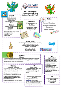 Year3 Curriculum Overview Autumn 1 2020.