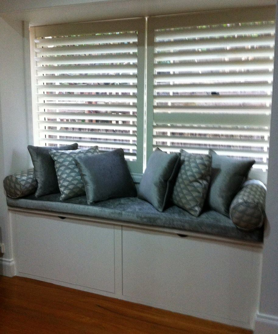 Willoughby Residence Window Seat