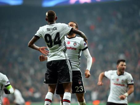 """""""Beşiktaş"""" Çempionlar Liqasının səkkizdəbir finalında!"""