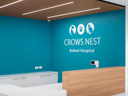Crows Nest Animal Hospital Reception 1 K
