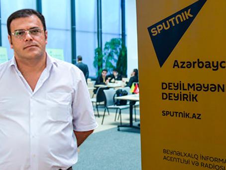 Шеф-редактор Sputnik Азербайджан покинул редакцию по собственному решению