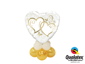 Entwined Hearts Gold Mini