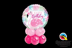 Birthday Pink Flamingo Mini