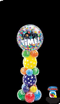 Birthday Confetti Bubble Column