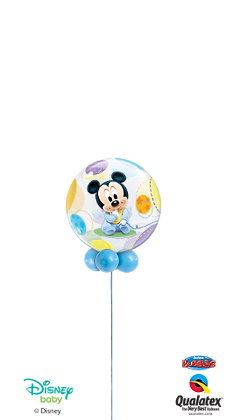 Disney Baby Mickey or Minnie Mouse Bubble