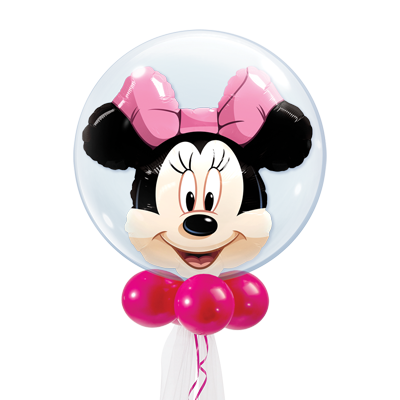 Disney Minnie or Mickey Mouse Double Bubble