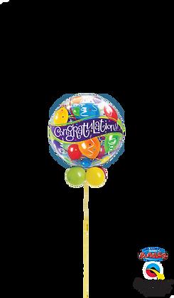 Congratulations Balloons Bubble