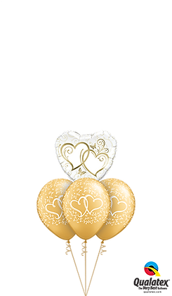 Entwined Hearts Gold Layer
