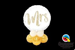 Mrs or Mr  Glitter Mini