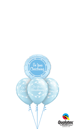 On Your Christening Blue or Pink Layer