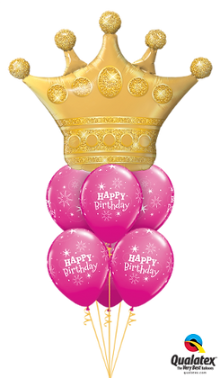 Birthday Golden Crown Luxury