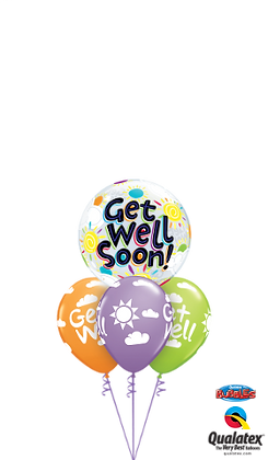 Get Well Soon Bubble Layer