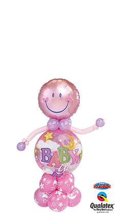 Baby Girl Bubble Buddy