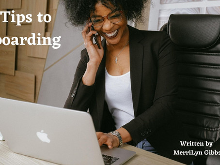 4 Tips for Onboarding