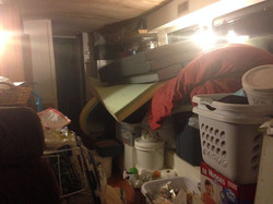 Stuff Piled in Bus