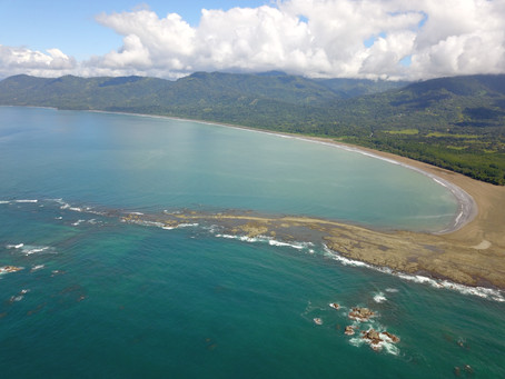 Bahia Bellena - Costa Rica Beach - One of the best beaches ever - Whale Tail Beach