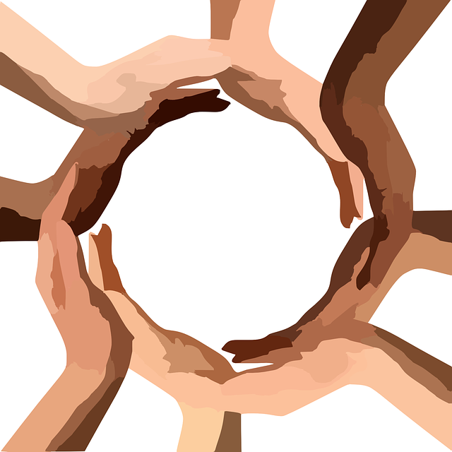 Culture and Diversity (hands making a connected circle)