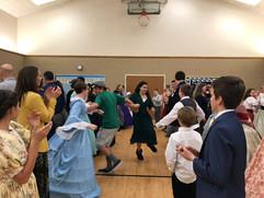 Civil War era dancing, Virgina Reel