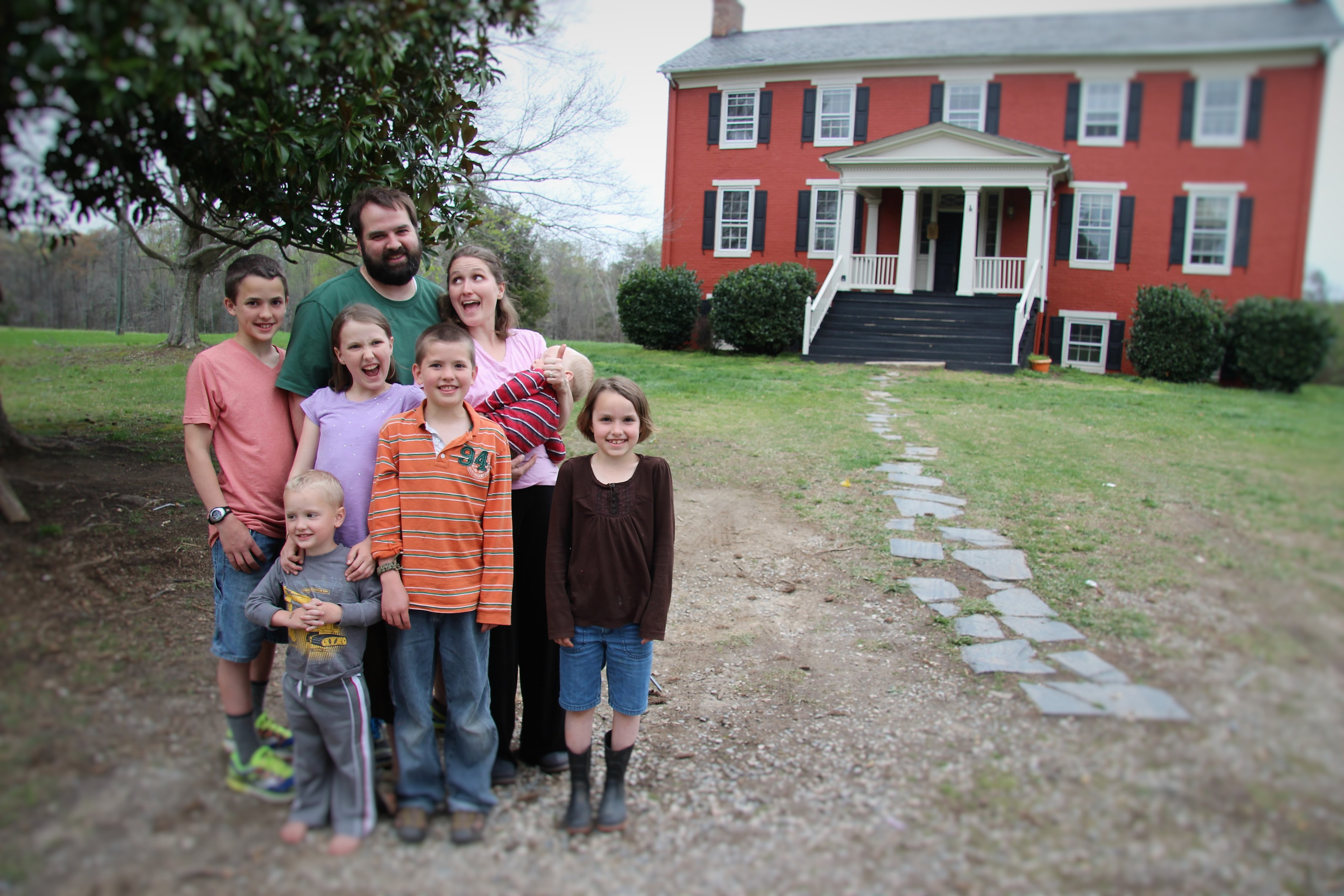 Thomas Family Pic and Home