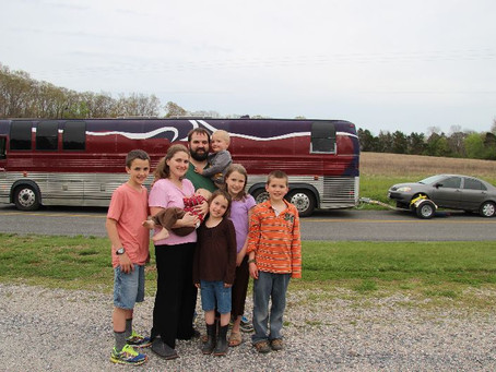 Where we live 2018: Fulltime RV Living for a Large Family