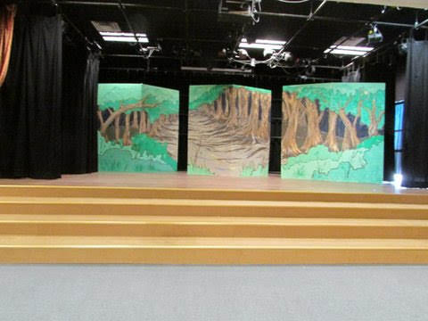 Into the Woods Backdrop