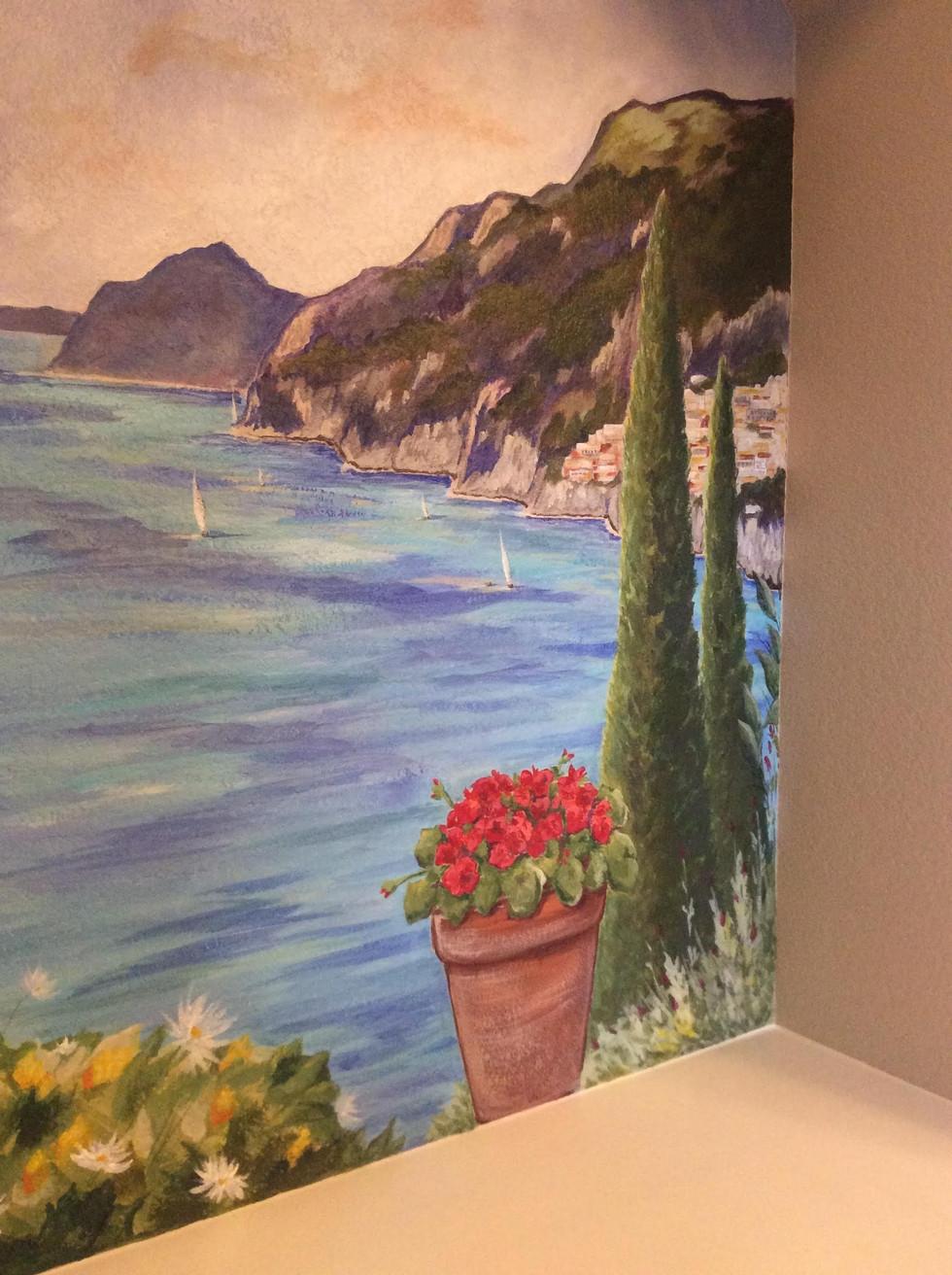 Amalfi Coast Close-Up