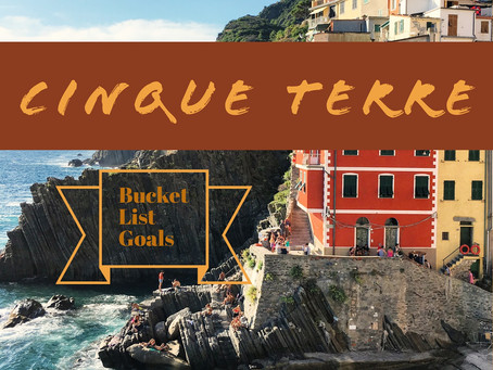 8 reasons why CINQUE TERRE should be on your BUCKET LIST ❤️