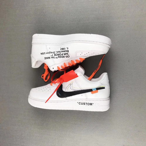 super popular 727f3 aaed6 Top 10 OFF WHITE Collection. Nike Air Force 1 X OFF WHITE X Custom Version.