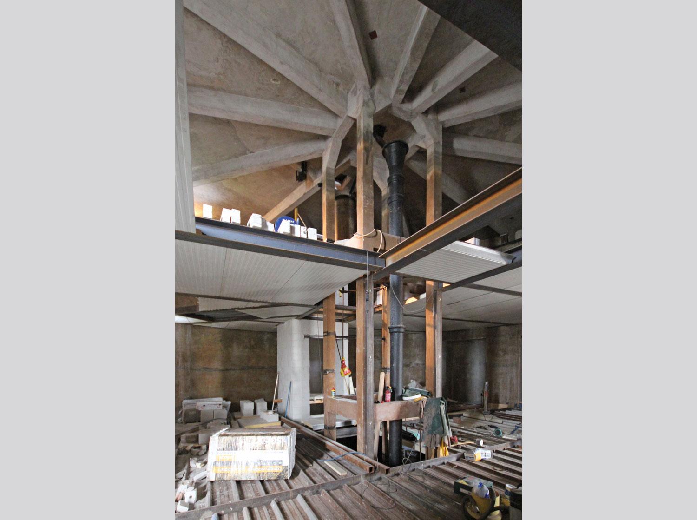 Verbouwing watertoren te Leiden
