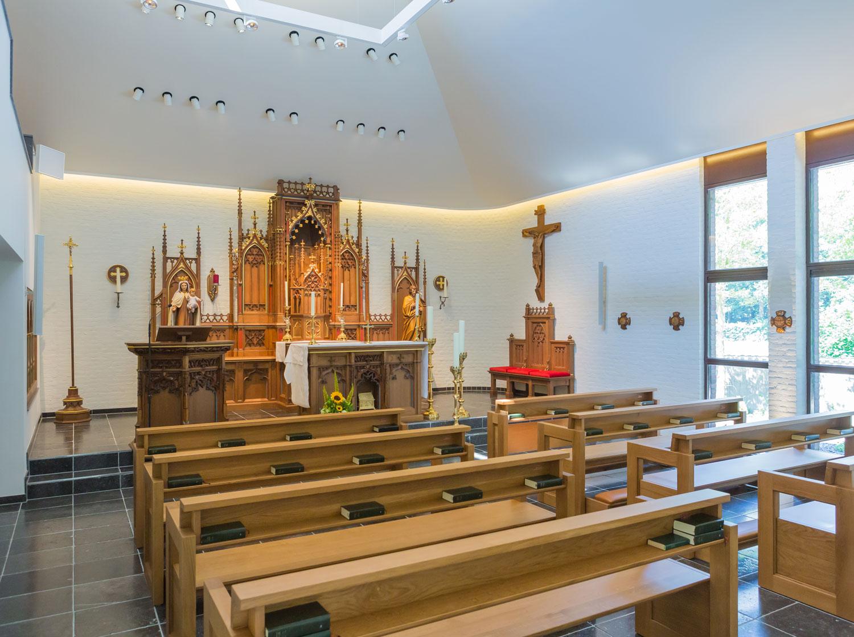 Verbouwing klooster te Vogelenzang