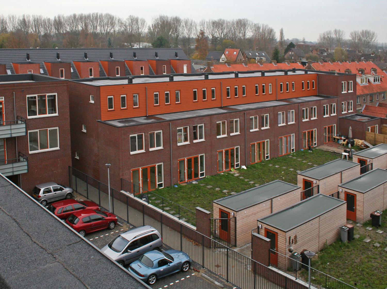 Woningen Oranjebuurt te Hoofddorp