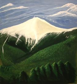 Mt Washington NH, Acrylic on MDF