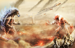 Godzilla vz The Warewolves
