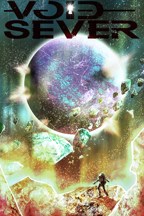"""Void Sever Promo Poster """"Space Plumes"""""""
