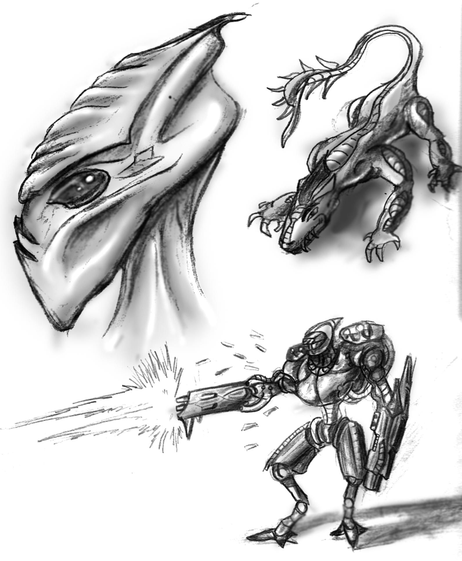 Concept Sketches 2009