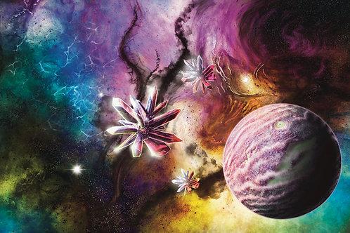 """""""Crystalline Nebula"""" 11in x17in Print"""