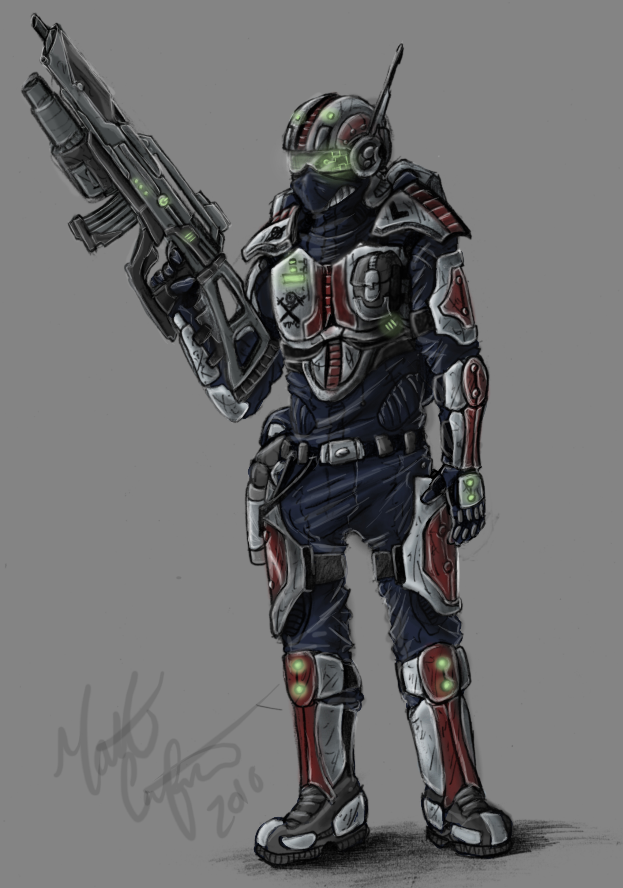 Terran Infantry Design