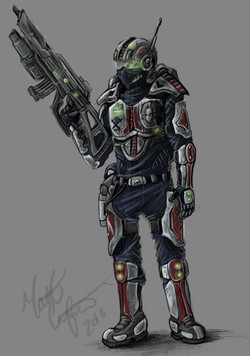 Terran Infantry Design