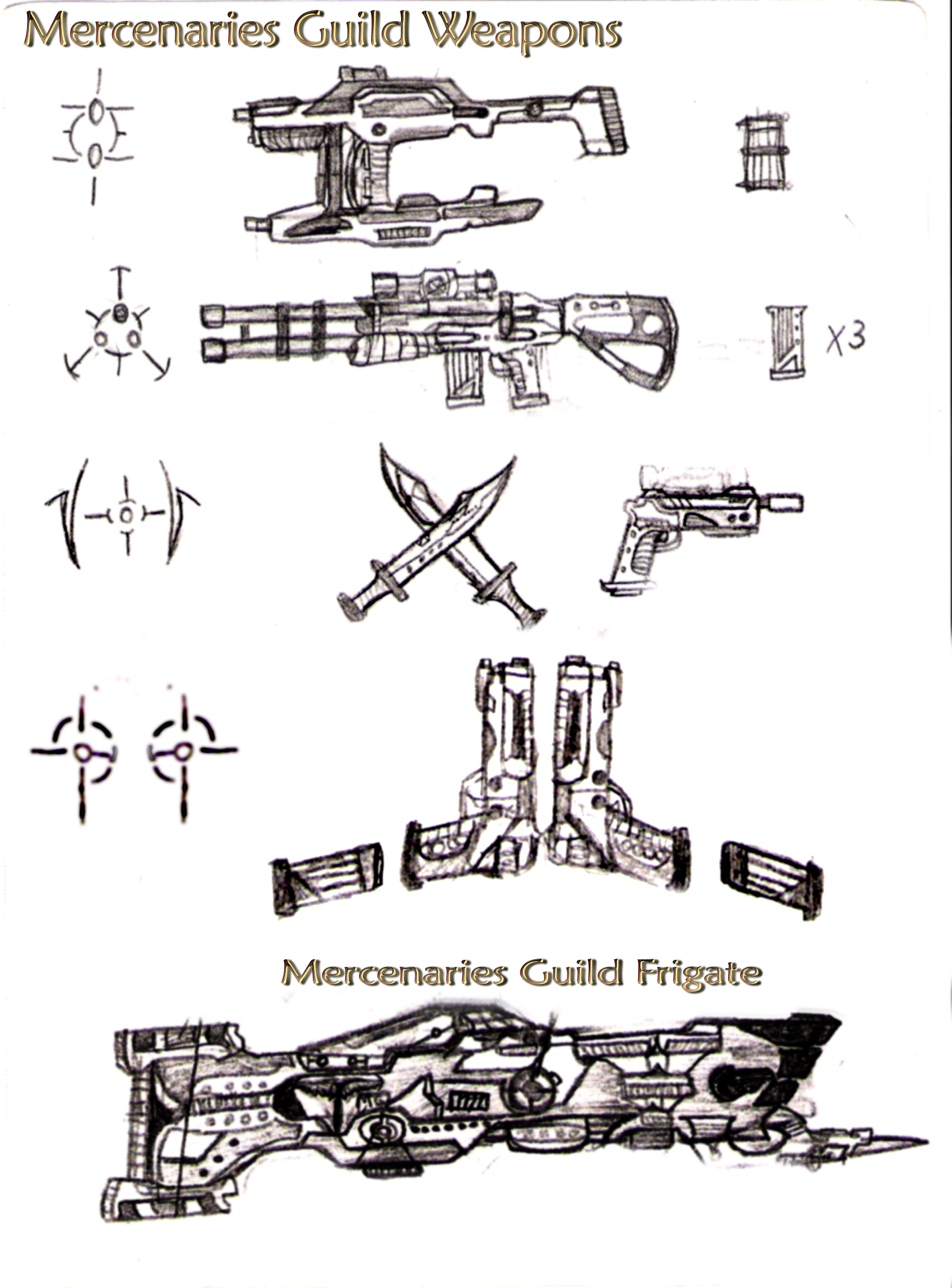 IMG Weapons and Frigate