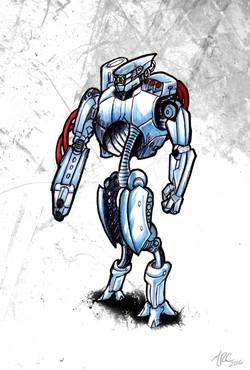 Concept: Punisher Combat Droid