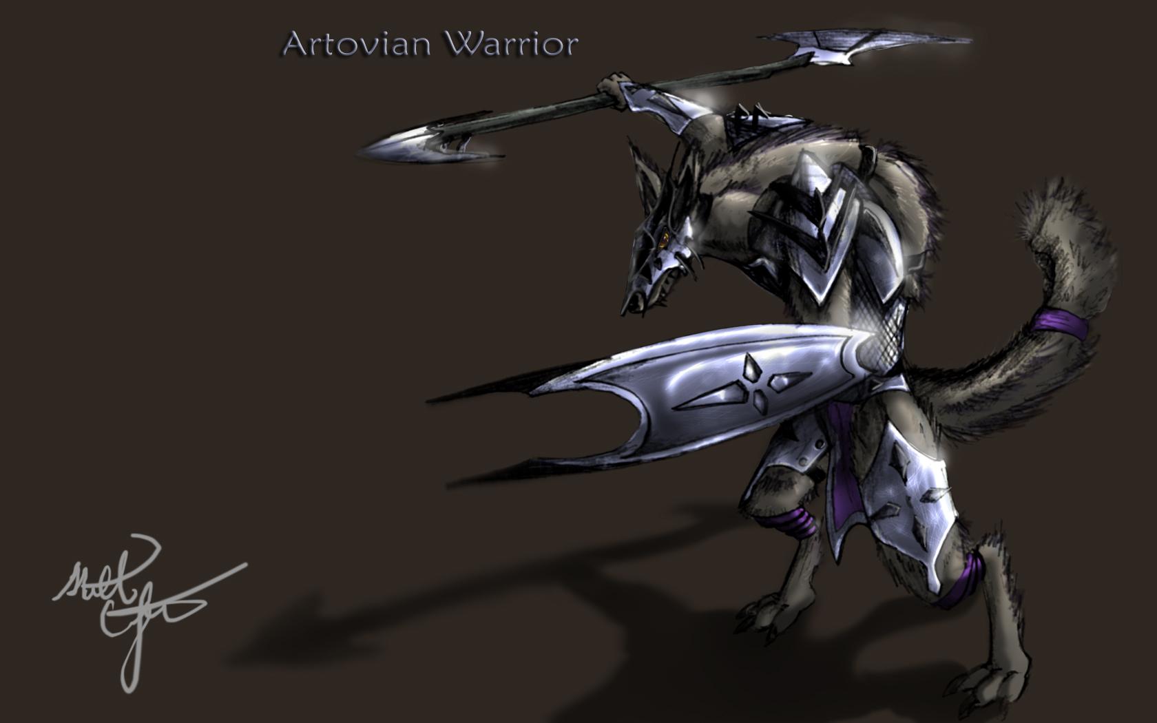 Artovian warrior
