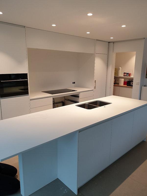 keuken composiet wit