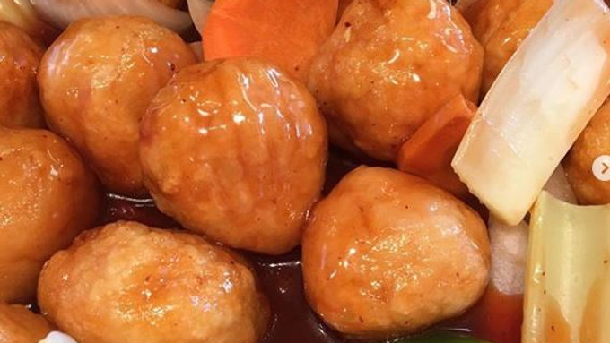 Stirfry - Chicken Balls with Sauce in Container (DF)